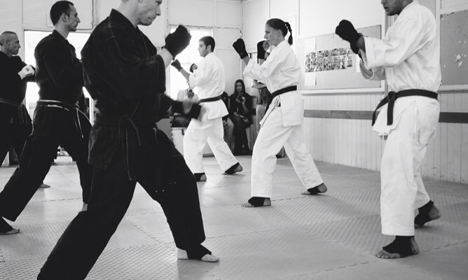 Kohai Chris Facing Off Against Shihan James in Brisbane