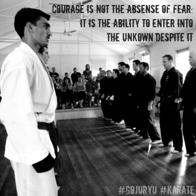 A short quote on courage
